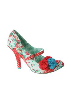 Blue and red shoes #blue #aqua #red - an awesome boy colorway from woman's shoes