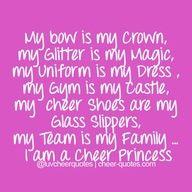 #Cheer princess. #cheerleading #cheerleader