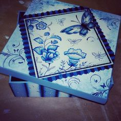 Caixa borboleta