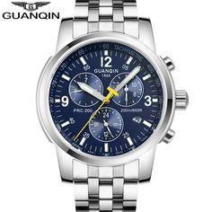 Find More Mechanical Watches Information about Original GUANQIN Men Mechanical Watches Men Luxury Brand Full Steel Waterproof 100m Business Automatic Wristwatches For Men,High Quality watch beautiful women,China watch trade Suppliers, Cheap watch wrench from GUANQIN Watches Exclusive Store on Aliexpress.com