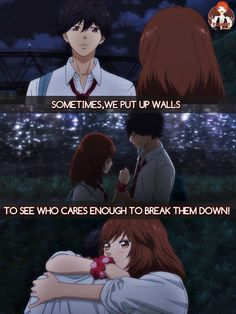 One of my favorite anime that I've watched this year! :) Ao Haru Ride