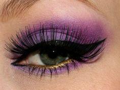 Eye Make up - I do Make Up in the Car
