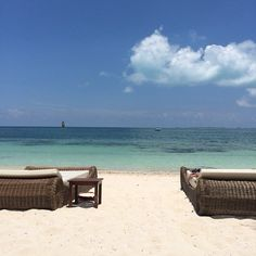 Gorgeous beach at Excellence Playa Mujeres. Who wouldn't love to be here?! #AllInclusiveLuxury #BeachVacations
