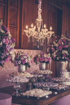 Casamento rústico com decoração rosa e lilás: Clarissa e Fábio