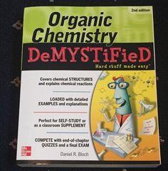 Demystified Ser.: Organic Chemistry by Daniel Bloch (2012, Paperback)