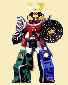 I searched for power rangers samurai megazord images on Bing and found this from http://powerrangers.wikia.com/wiki/Samurai_Megazord/toys