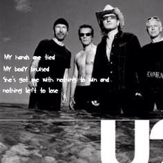 U2-With of without You