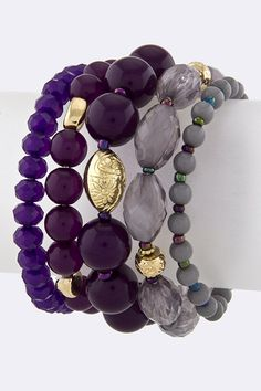 Mixed Bead Bracelet $15 at www.ruth81.com  FREE shipping with every order!