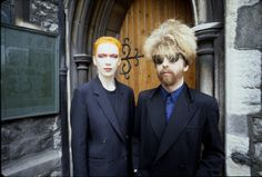 Annie Lennox and Dave Stewart