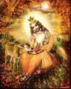 Lotus-Eyed Sri Krishna