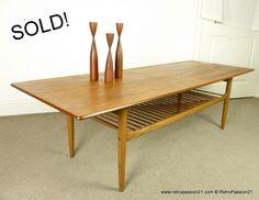 Teak Coffee Table by Kofod Larsen for G Plan, $0.00