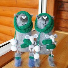 # toy # knitting # weamiguru # world_best_ideas # amigurumidoll # crochettoy # frog Handmade Baby, Handmade Toys, Cute Crochet, Crochet Toys, Knitted Cat, Cat Doll, Cute Toys, Felt Toys, Amigurumi Doll