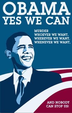 Obama Yes we can!