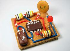 Circuit Board Snacks