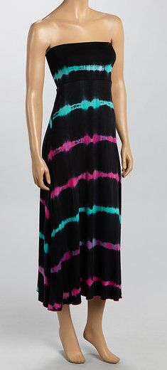 Pink & Aqua Convertible Dress.... but shorter