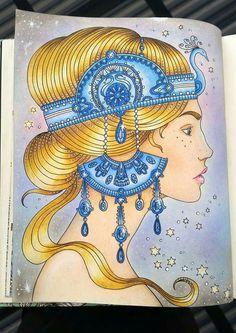 Dagdrommar Adult Coloring Book Inspiration Sandrawestergren