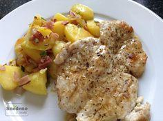 Krůtí plátek s restovanými brambory Meat, Chicken, Cubs