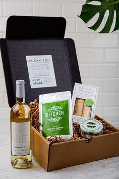 viaONEHOPE - White Wine Gift Box