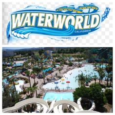 Waterworld in Concord,CA.. My Dad took my kids and I a few years ago!! We love water parks!