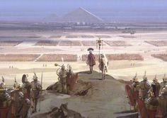 Rome in Egypt, Nick Gindraux Roman History, Art History, Ancient Rome, Ancient History, Rome Antique, Roman Warriors, Roman Legion, Roman Soldiers, Medieval Fantasy