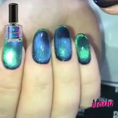 🔥This nail polish is magic ! 😱 🔥This nail polish is magic ! 😱,Make up Related Trendy as well as Appealing Marble Coffin Nails Design - Nail DesignPerfect Styles of Yellow Nail Designs. Cat Eye Nails Polish, Nail Polish Colors, Coffin Nails, Mood Nail Polish Gel, Mood Changing Nail Polish, Best Nail Polish Brands, Mirror Nail Polish, Color Change Nail Polish, Color Changing Nails