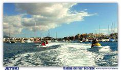 Enjoy Jetski. Marina del Sur . Salidas desde nuestra marina en moto acuática a diferentes puntos de la costa.