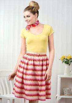 No Pattern Skirt