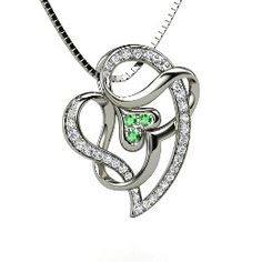 Tattooed with Love Pendant  ((@Niki Kinney Morgan -- a different heart+infinity design, for tat))