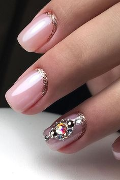 Are you looking for classy wedding nail for bride? See our collection full of classy wedding nail for bride and get inspired!