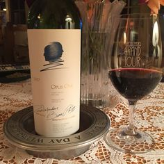 1997 Opus One produced by Baron Philippe De Rothschild & Robert Mondavi to celebrate first year of Opex Rex w/my partner and love! It was truly divine!!!