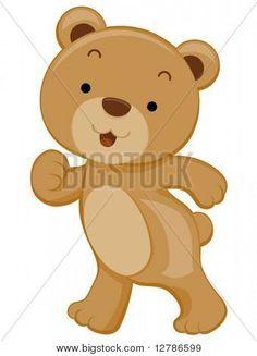 Cute Bear - Vector | Stock vector