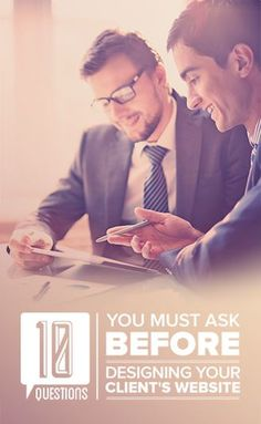 The 10 Questions You MUST Ask Your Client Before Designing Their Website - Bianca's Blog