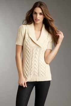 Shawl collar sweater.....so want this in purple