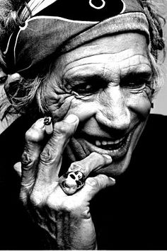 """It's really good to be here and as I always say, it's really good to be anywhere!"" ― Keith Richards."