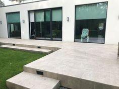 Outdoor Lime Ivory Porcelain 120x60cm   Tiles   Tile Merchant Mansions, Outdoor Decor, Porcelain, Porcelain Tile, House Styles, Drain Away, Outdoor Porcelain Tile, Roof Terrace, Expansion Joint