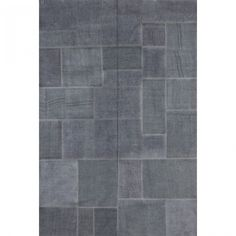 Dark grey modern Italian luxury rug Milano by Sitap