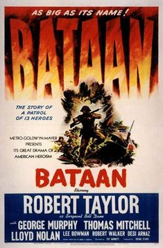 1943 movies | IMP Awards > 1943 Movie Poster Gallery > Bataan Poster