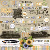Pumpkin Soup WordArt by Fayette Designs