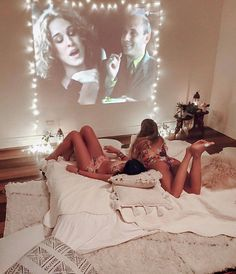 How To Have The Perfect Movie Night At Home - Sleepover 😴