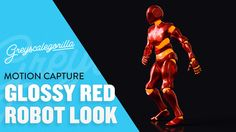 Cinema 4D Tutorial - Make A Glossy Robot Character Animation Using Motio...