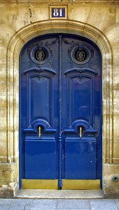 i want a different color door somewhere on my house.. back door maybe.. side door?