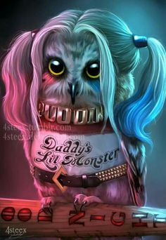 Harley's lil pet, what a Hoot! lol