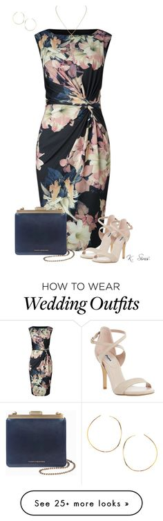"""Wedding Guest 3"" by ksims-1 on Polyvore featuring Phase Eight, Dune, Cartier and Lana"