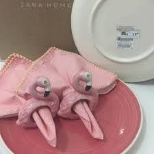 Resultado de imagem para porta guardanapo flamingo zara home