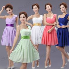New HOT Cocktail Prom Dress Party Dress Evening Dress Bridesmaid Wedding Dresses
