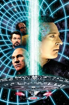 Star Trek: The Next Generation: The Space Between #5 Cover (IDW Publishing) By Joe Corroney