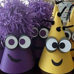 DESPICABLE Me Coned Party Hat / oh so cute!!