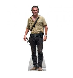 Rick Grimes Cardboard Cutout. Walking Dead is back this fall! So excited!