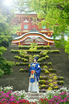 REIKA (reika2011) as Mikazuki Munetika from Touken Ranbu ~