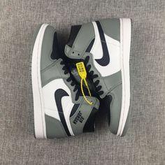 """549bdf631add37 Air Jordan 1 High Rare Air """"Cool Grey"""" 2017 Release"""